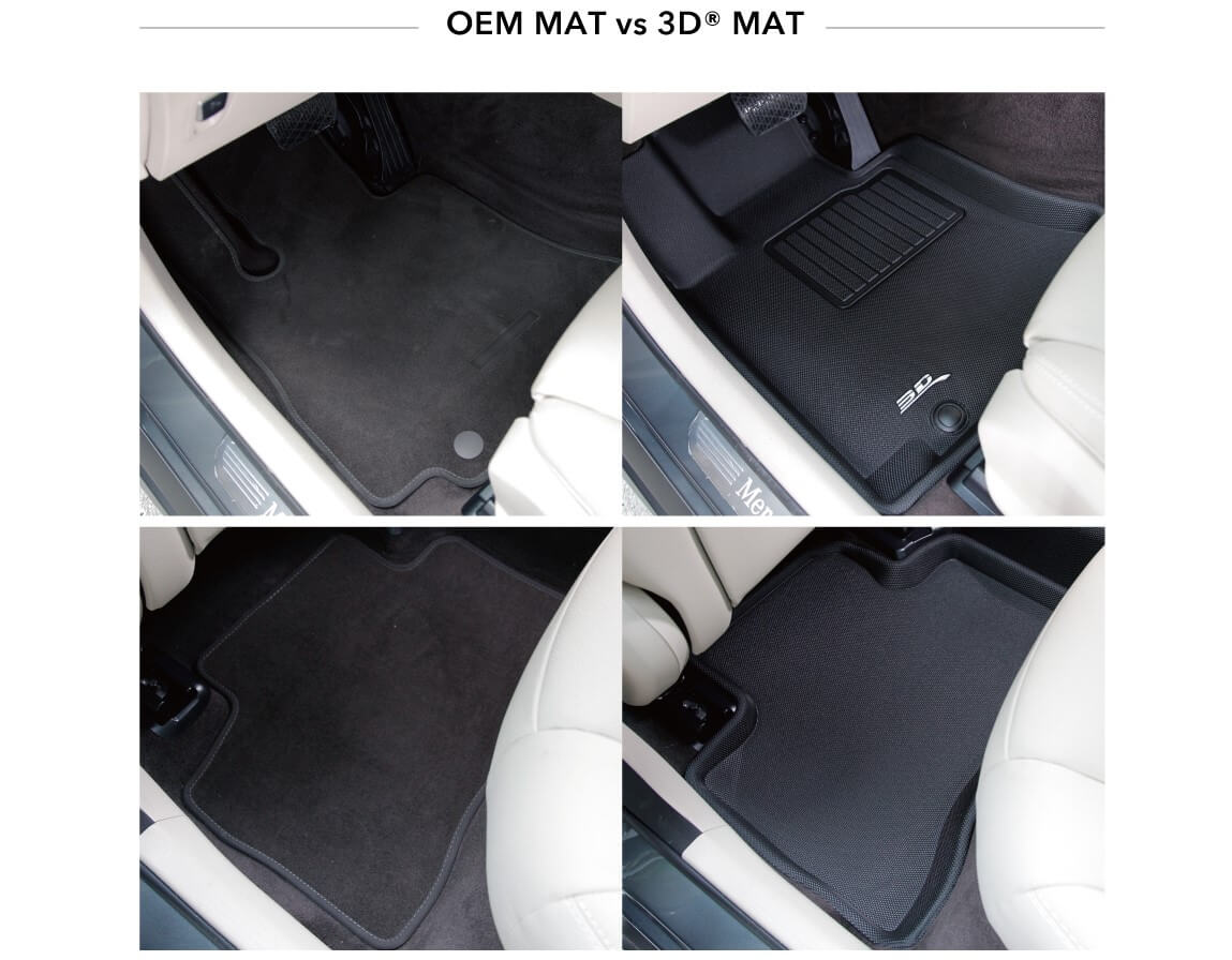 The difference between custom fit floor liner and universal fit floor liner