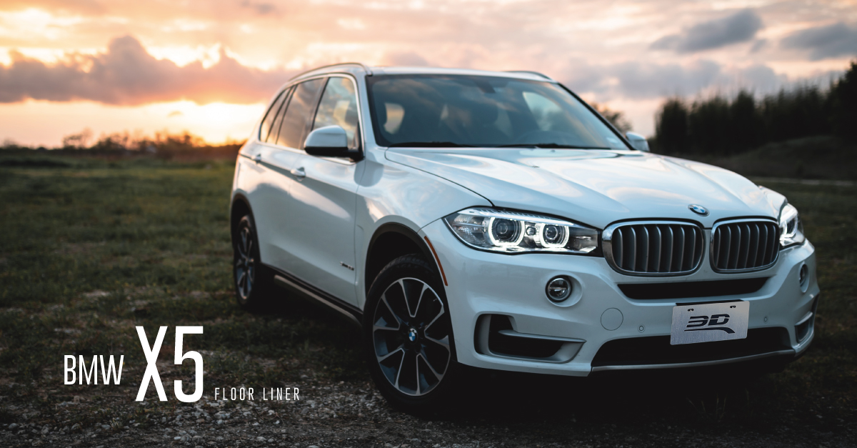 BMW X5 SUV 2019 review - 3D® KAGU All-Weather Prefect Fit Floor Liner