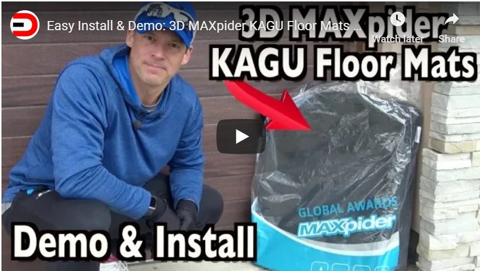Easy Install & Demo: Jeep SUV 3D® KAGU Floor Mats on Everyman Driver