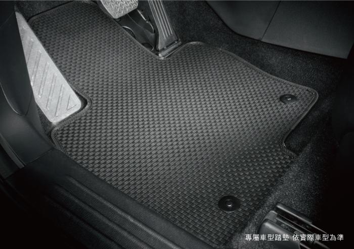 編織紋平面汽車踏墊[耐磨耐用 . 防水易洗]