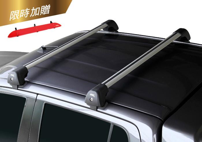 專用型夾門式車頂行李架【無直桿車系專用】