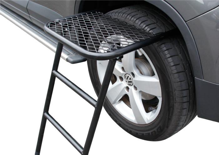 3D® 戶外露營容量升級躍進套組【兩用行李盤L+輪胎梯架】