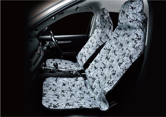 前座數位迷彩椅套